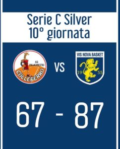 COLLEFERRO – VIS NOVA BASKET