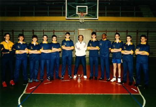 1995 - CAMPIONI REGIONALI ALLIEVI